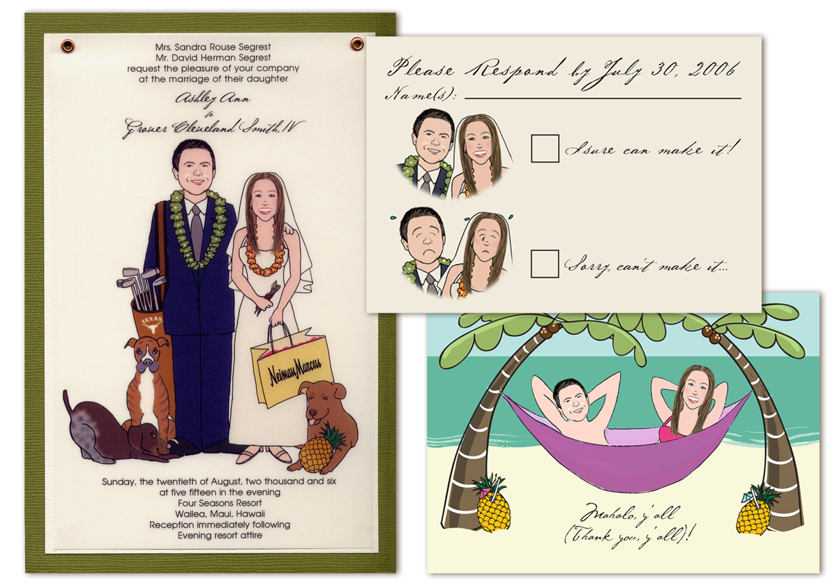 caricature wedding invitation philippines - 28 images - caricature ...