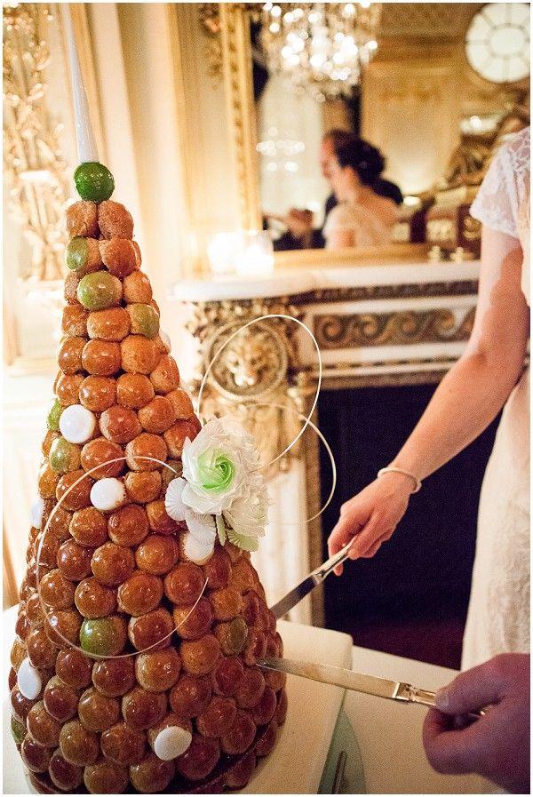 Wedding Cake Alternative - Croquembouche