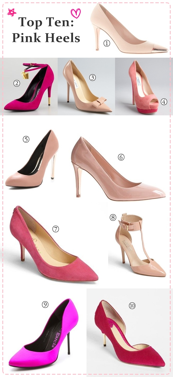 Wedding Philippines - Top Ten - Pink Heels - Shoes