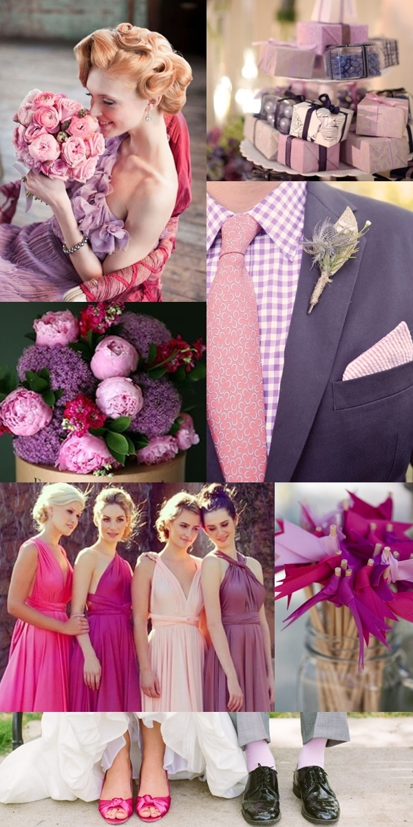 Bridesmaid (Photo via ); Favors (Photo via ); Groom's Attire (Photo via ); Bucket of Flowers (Photo via ); Bridesmaids (Photo via ), Drink Flags (Photo via ), Couple's Shoes (Photo via )