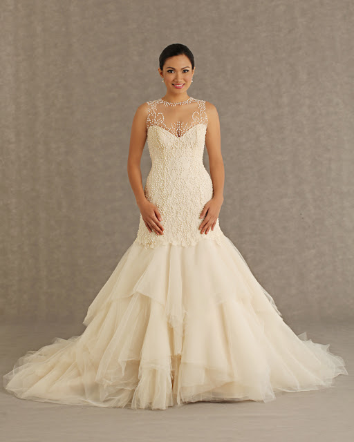 Wedding Principal Sponsors Gown: Veluz Reyes 2013 Bridal Collection