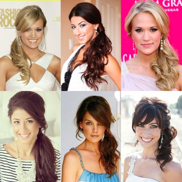 Cute Ponytail Hairstyle Ideas