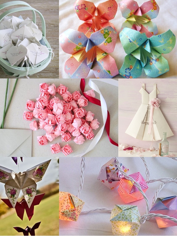 Origami Decorations For Wedding Images Decoration Ideas