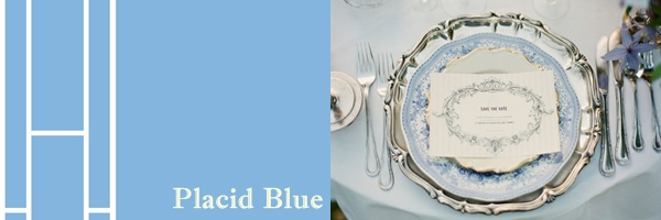 Placid Blue (or Sky Blue, as it's more commonly referred)