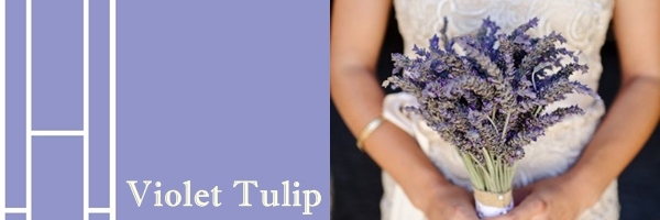 Wedding Philippines - Top 10 Wedding Color Motif Trends for Spring 2014 - Violet Tulip