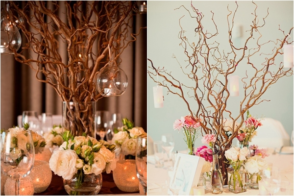 Unique centerpiece ideas for your reception tables