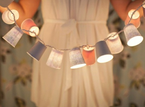 Weddings Philippines - Beach Themed Wedding Projects & DIY Inspiration - Paper Cups