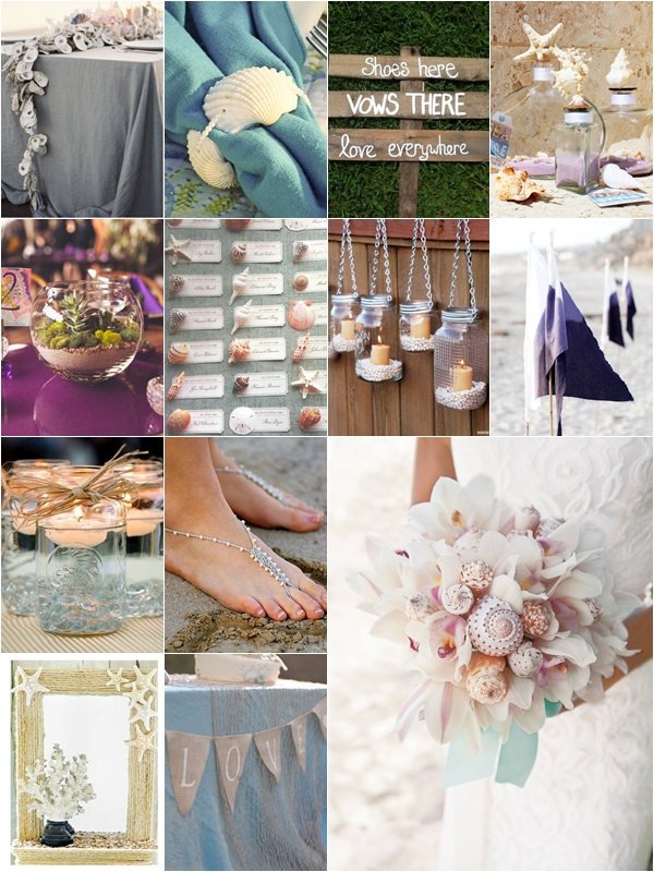 Weddings Philippines - Beach Themed Wedding Projects & DIY Inspiration