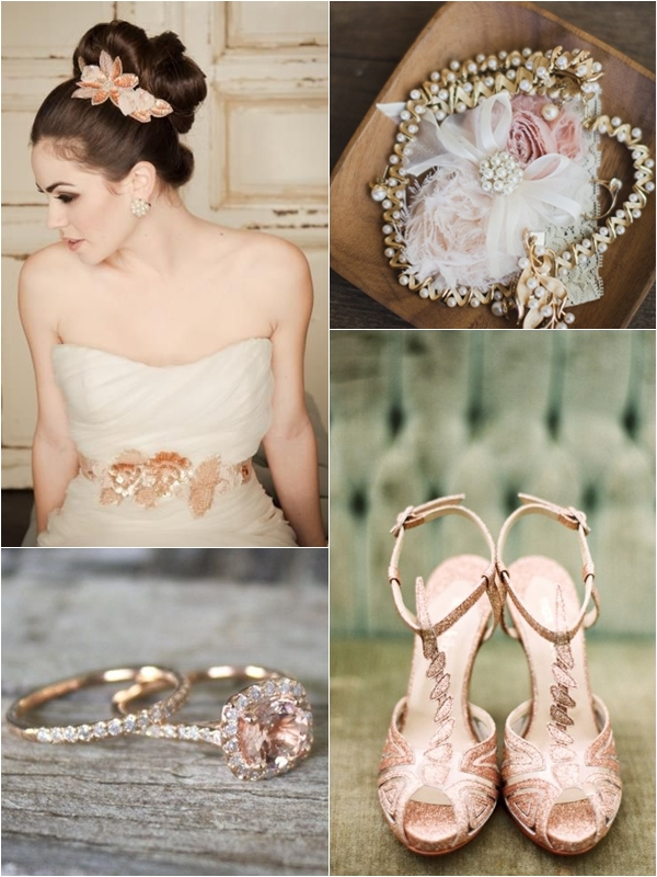 Bridal Headpiece & Sash, Garter, Ladies' Rings, Shoes