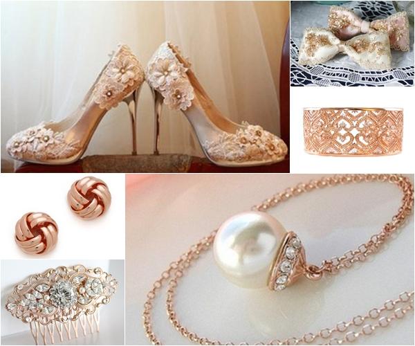 Wedding Trend Alert Rose Gold Wedding Bling Wedding Philippines