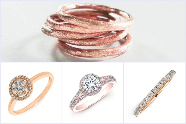 Weddings Philippines - Rose Gold Wedding Bling - Ladies' Ring