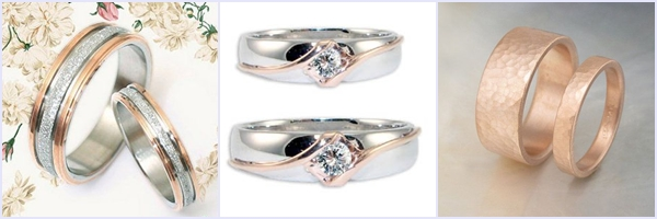 Weddings Philippines - Rose Gold Wedding Bling - Matching Wedding Bridal Sets