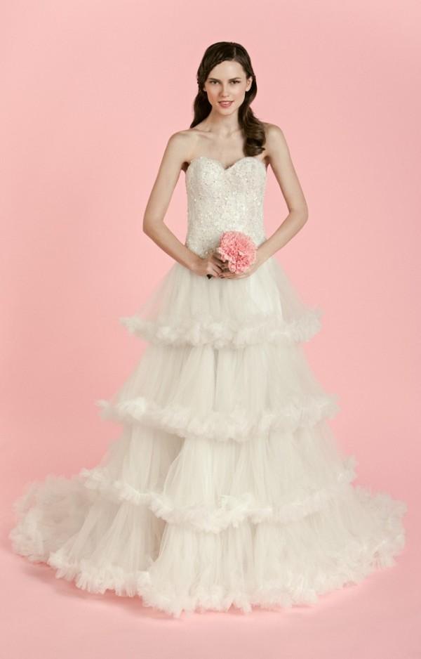 Weddings Philippines - Veejay Floresca Spring 2014 Bridal Collection - Aurora