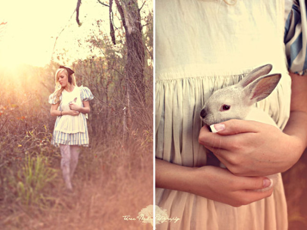 Wedding Philppines - Fairytale Inspired Engagement Photo Session - Alice in Wonderland 01