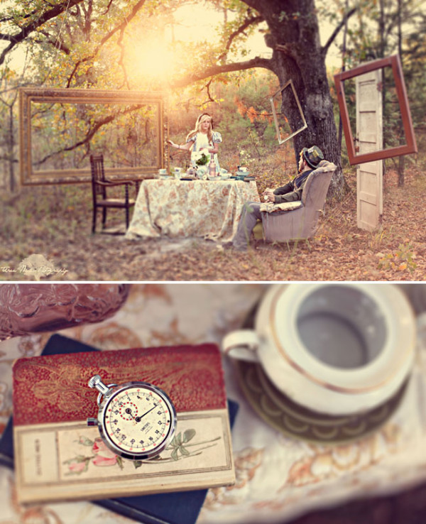 Wedding Philppines - Fairytale Inspired Engagement Photo Session - Alice in Wonderland 03