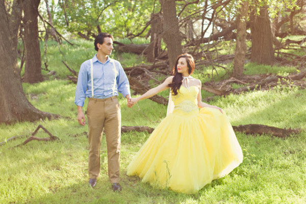 Wedding Philppines - Fairytale Inspired Engagement Photo Session - Snow White 03