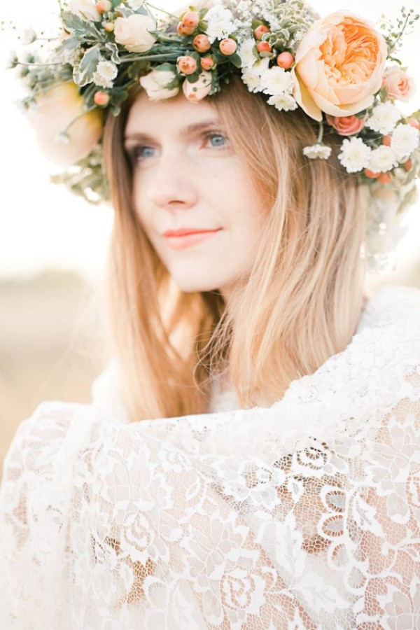 Wedding Philppines - Floral Bridal Crowns & Headpiece Ideas 01