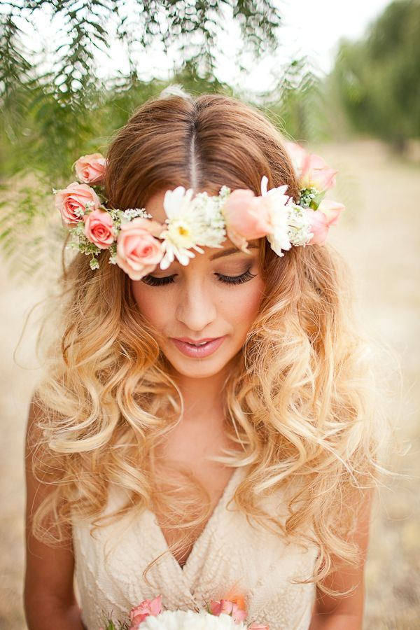 Wedding Philppines - Floral Bridal Crowns & Headpiece Ideas 03