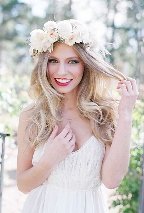 Wedding Philppines - Floral Bridal Crowns & Headpiece Ideas 06