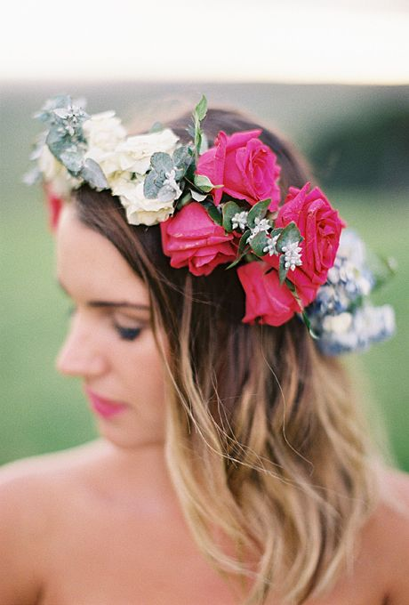 Wedding Philppines - Floral Bridal Crowns & Headpiece Ideas 07