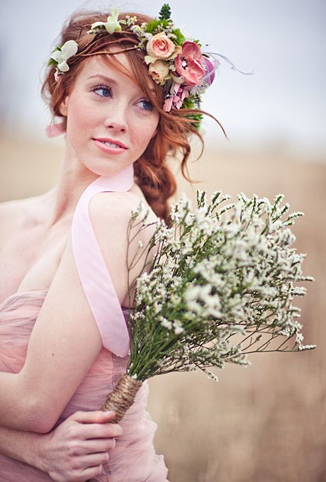 Wedding Philppines - Floral Bridal Crowns & Headpiece Ideas 08