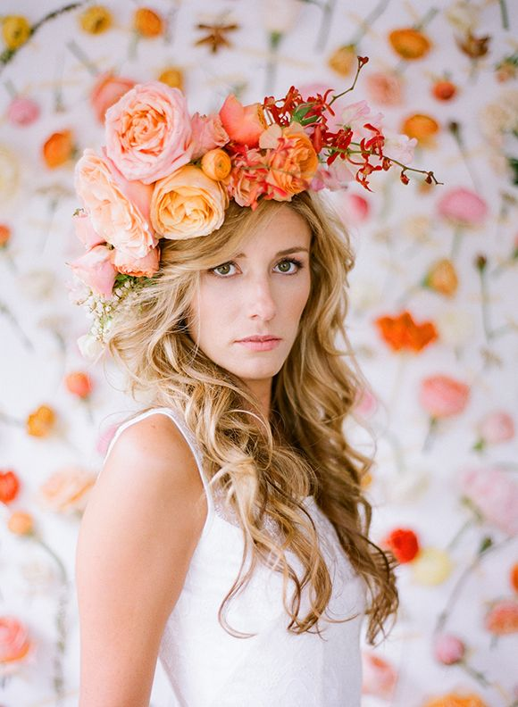 Wedding Philppines - Floral Bridal Crowns & Headpiece Ideas 09