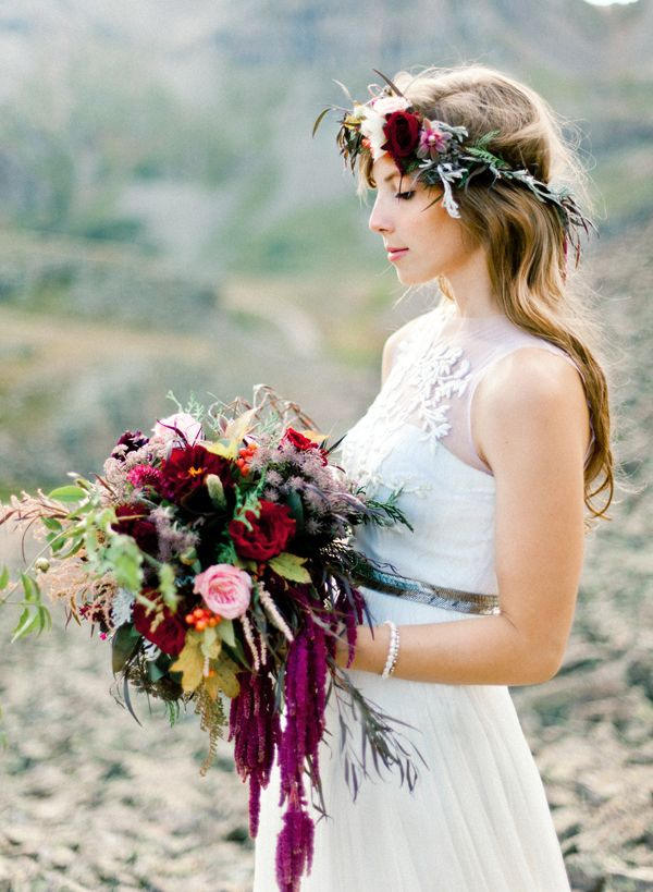 Wedding Philppines - Floral Bridal Crowns & Headpiece Ideas 10