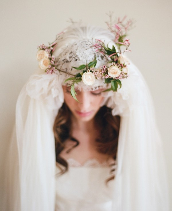 Wedding Philppines - Floral Bridal Crowns & Headpiece Ideas 12