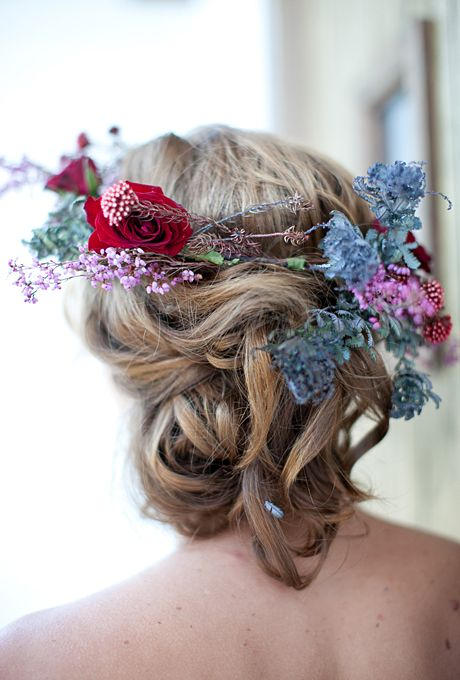Wedding Philppines - Floral Bridal Crowns & Headpiece Ideas 13