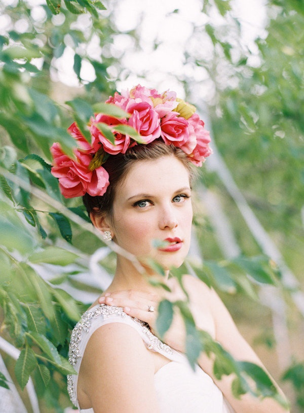 Wedding Philppines - Floral Bridal Crowns & Headpiece Ideas 15