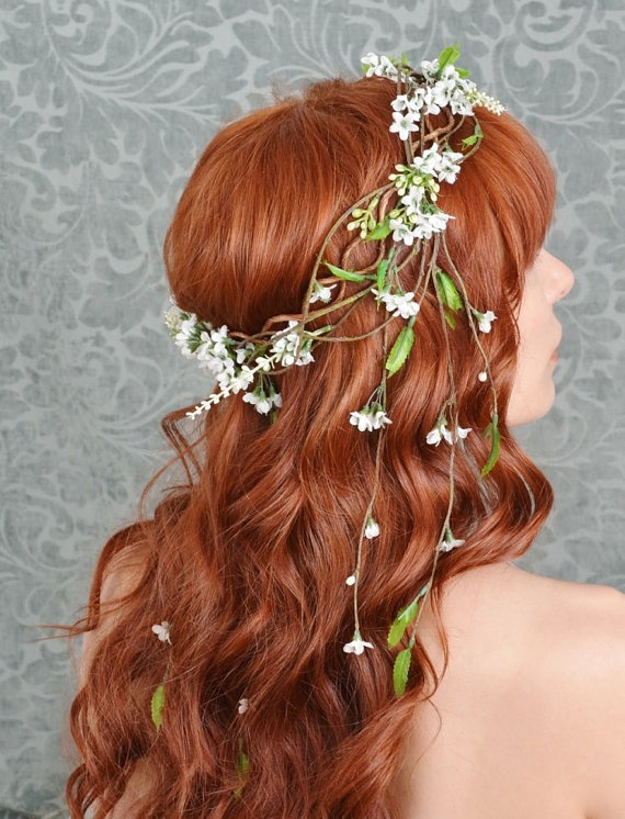 Wedding Philppines - Floral Bridal Crowns & Headpiece Ideas 17