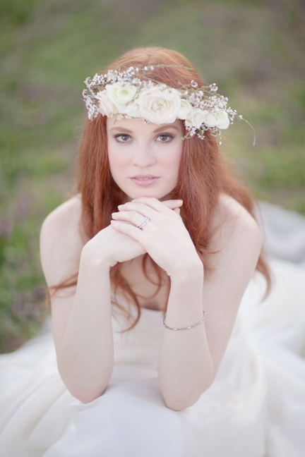 Wedding Philppines - Floral Bridal Crowns & Headpiece Ideas 19