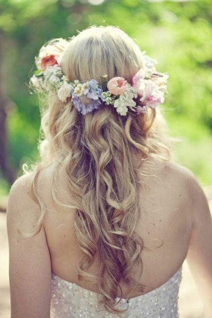 Wedding Philppines - Floral Bridal Crowns & Headpiece Ideas 20