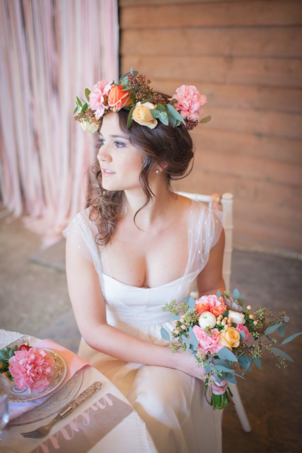 Wedding Philppines - Floral Bridal Crowns & Headpiece Ideas 21