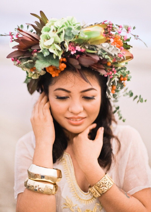 Wedding Philppines - Floral Bridal Crowns & Headpiece Ideas 23
