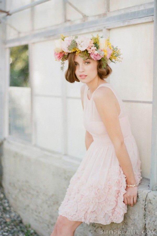 Wedding Philppines - Floral Bridal Crowns & Headpiece Ideas 24