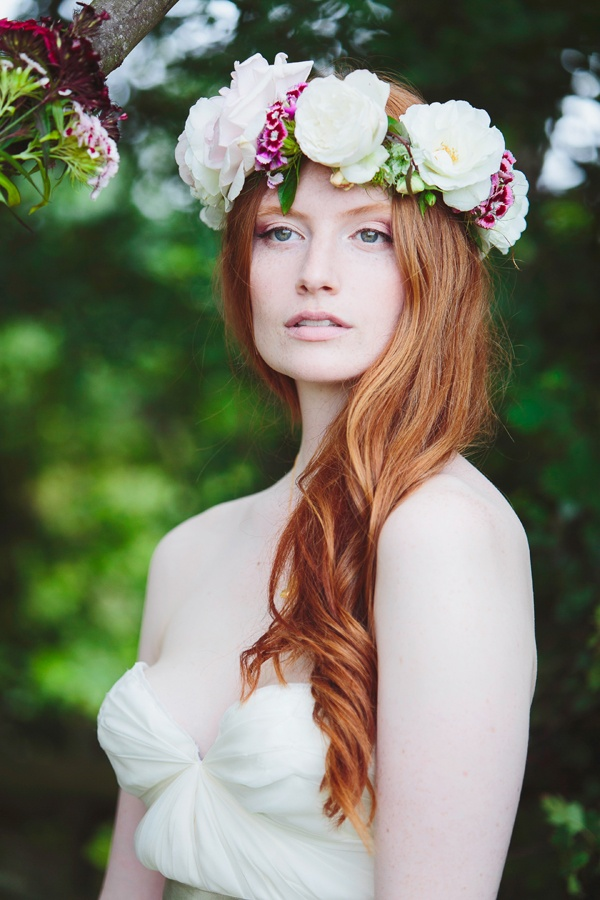 Wedding Philppines - Floral Bridal Crowns & Headpiece Ideas 26