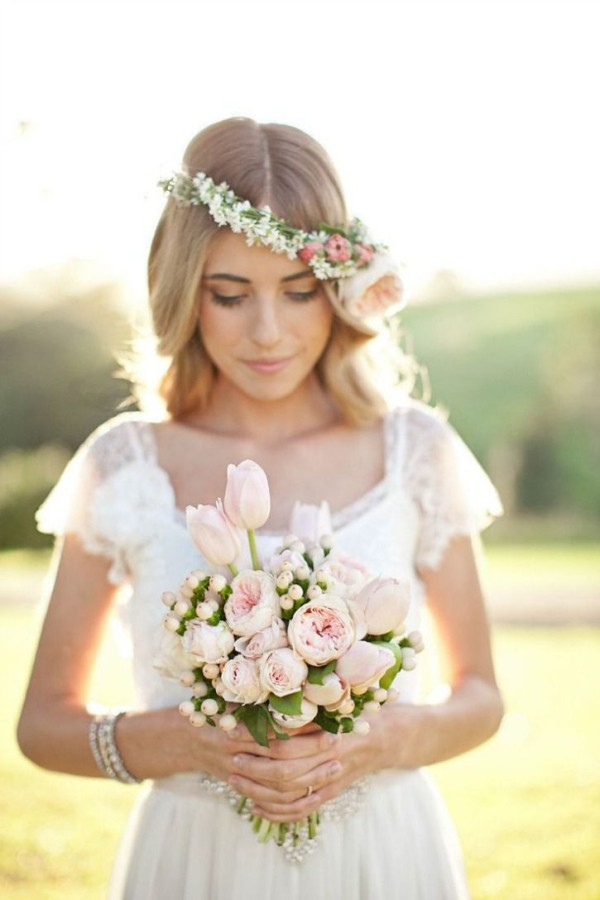 Wedding Philppines - Floral Bridal Crowns & Headpiece Ideas 28