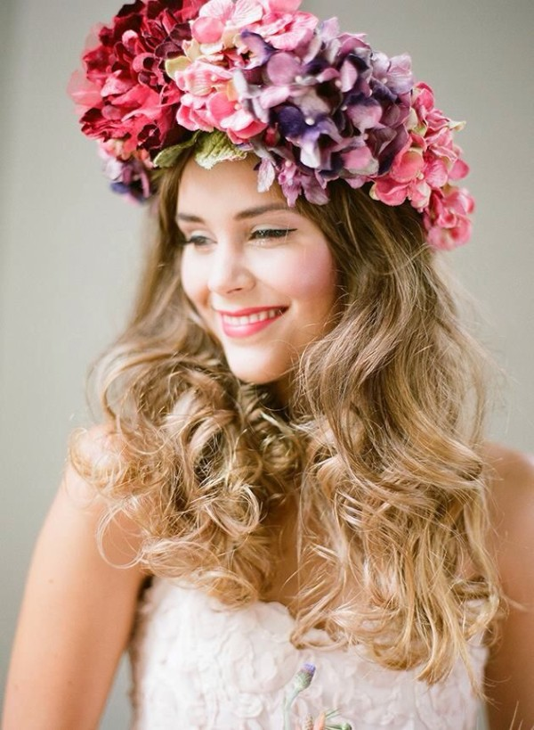 Wedding Philppines - Floral Bridal Crowns & Headpiece Ideas 29