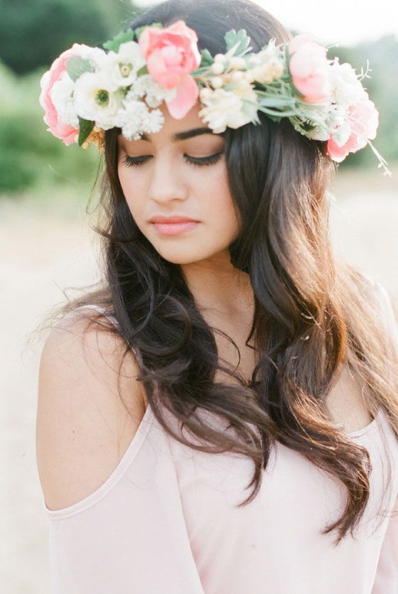 Wedding Philppines - Floral Bridal Crowns & Headpiece Ideas 30