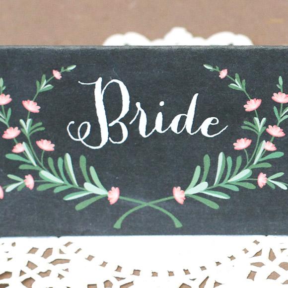 My Top 15 Free Wedding Printables - Bride and Groom Placecards2