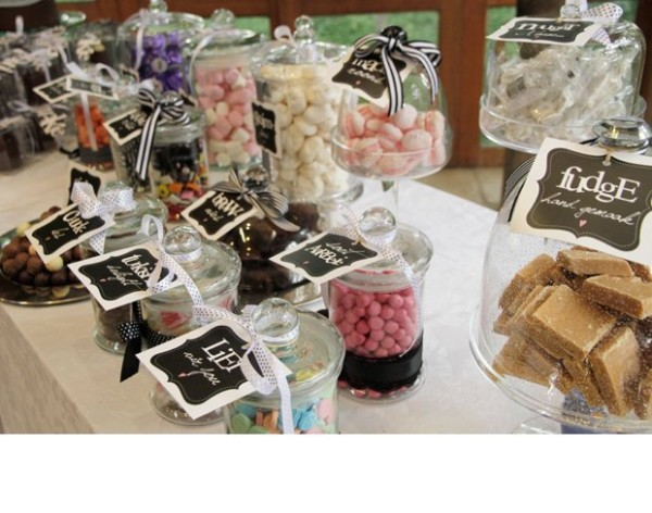 My Top 15 Free Wedding Printables - Candy Dessert Bar Tags
