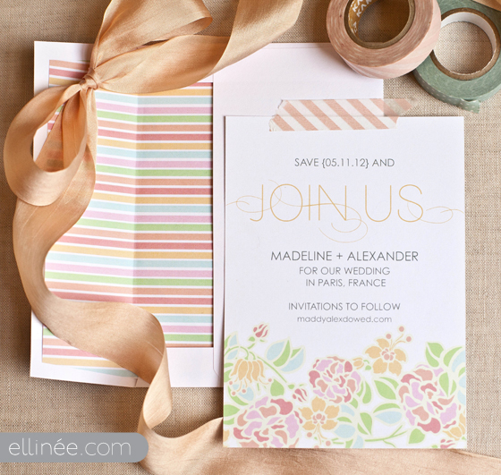 My Top 15 Free Wedding Printables - Save the Dates