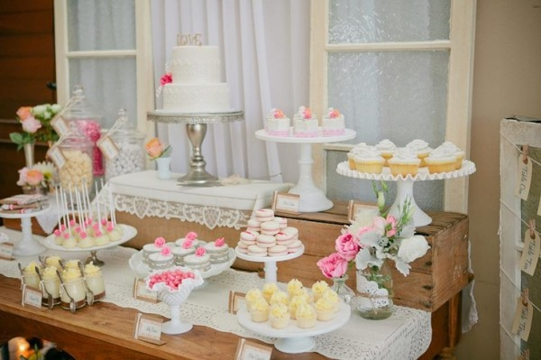 Dessert Table Ideas For Wedding