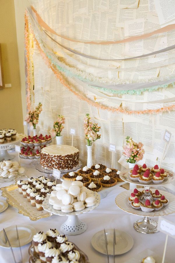 Dessert Table Ideas for Wedding - Wedding Philippines | Wedding ...