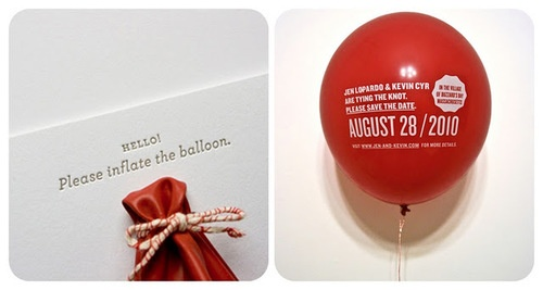Weddding Philippines - Creative and Unique Wedding Invitations and Save the Dates - Inflate the Balloon 02