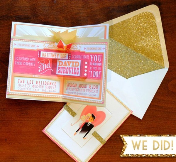 weddding philippines creative and unique wedding invitations and save the dates pop up - Pop Up Wedding Invitations