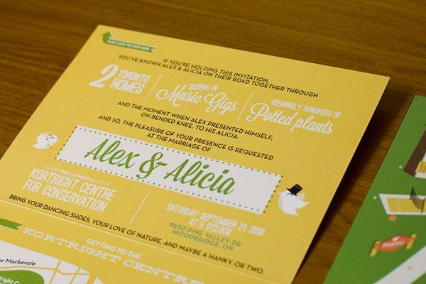 Weddding Philippines - Creative and Unique Wedding Invitations and Save the Dates - Walkable Wedding Invitations 02