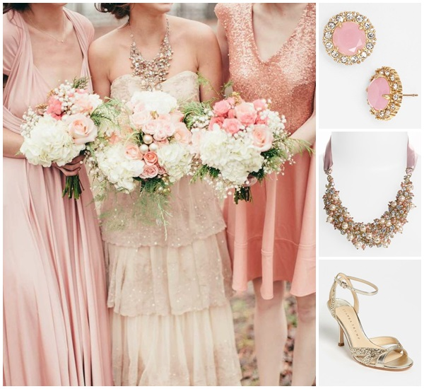 Weddding Philippines - Weddings by Color - Pink + Gold 02