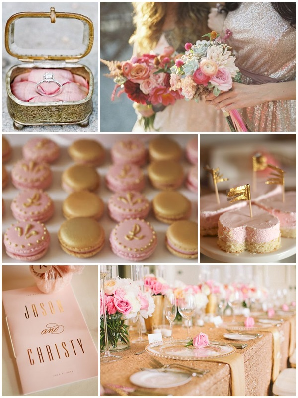 Weddding Philippines - Weddings by Color - Pink + Gold